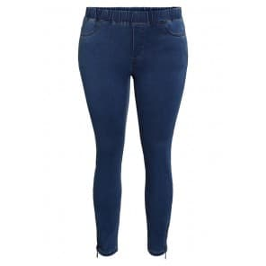 Jeans 7/8 elas.taille - Jeans middel