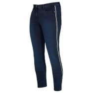 Broek bies denim - Blue denim