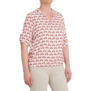 z Blouse flamingo's - Flamingo rood