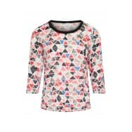 Dreamstar Blouse driehoek dessin - Rood dessin