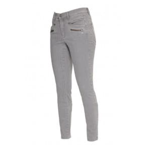 z Broek denim rits - Grey denim