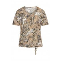 T-shirt print - Sahara mix