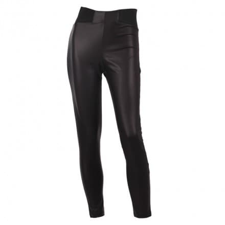 Legging leatherlook - Zwart