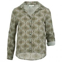 Enjoy Blouse stippen print - Army