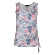 z Top mouwloos print - Blauw dessin