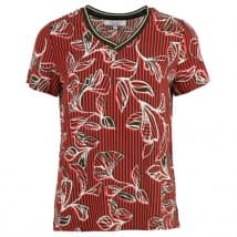 z Blouse KM boord vhals - Rood