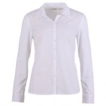 Enjoy Blouse LM uni kraag - Wit