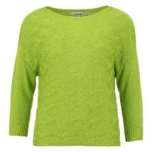 Enjoy Pullover 3/4 structu - Lime