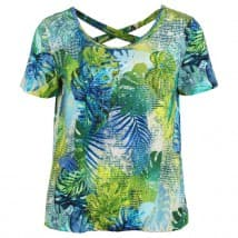 Enjoy Blouson hawai print - Lime