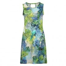 Enjoy Jurk hawai print - Lime
