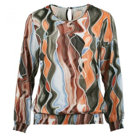 Blouse print - Army dessin