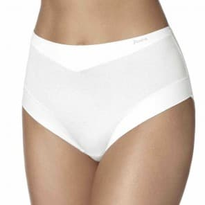 Slip cotton band taille invisible - Wit