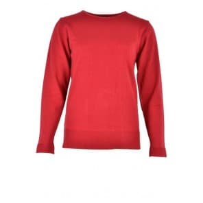 w Pullover LM uni - Rood