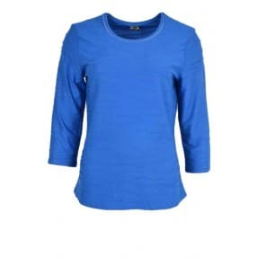 z Shirt basis jaquard - Kobalt
