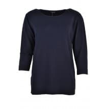 z A Pullover basis 3/4 - Donker blauw