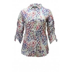 z Blouse vlekkenprint - Multi color