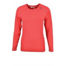 w Pullover jaquard rits - Rood