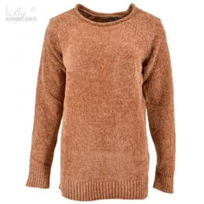 Pullover LM chenille - Caramel