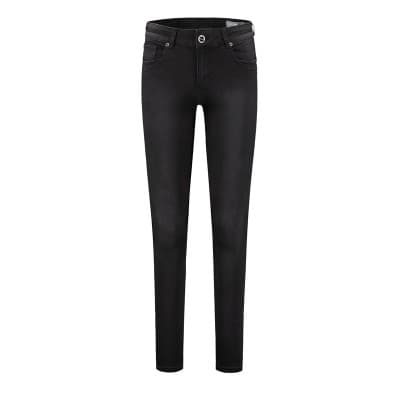 w Ivy satin denim - Used black