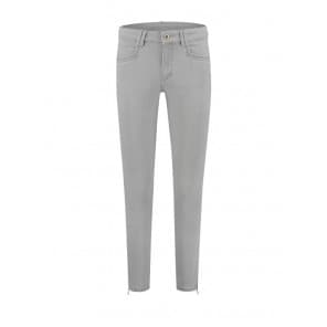 Amber Color Denim 7/8 - Clean grey