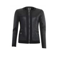 Poools Jacket coated - Zwart