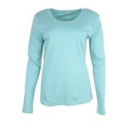 T-shirt LM basis - Turquoise