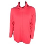 w Pullover LM col - Cerise