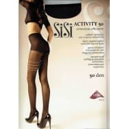 Sisi Activity 50 den - Zwart