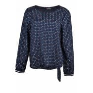 Street One Blouse ankertjes - Marine