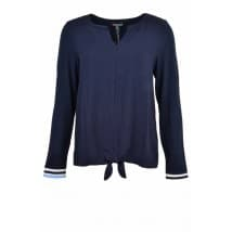 Blouse shirt strik - Marine