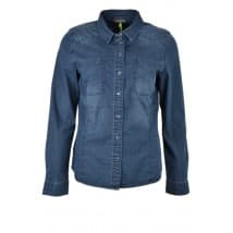 Street One Denim-blouse basic - Jeans blauw
