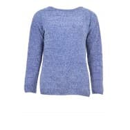 Pullover LM chenille - Blauw