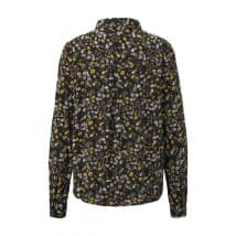Tom Tailor Denim Blouse bloemprint - Zwart