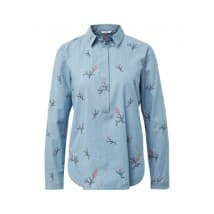 Tom Tailor Denim Blouse jeans borduur - Blauw