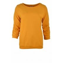 Sweater 3/4 dot - Oker