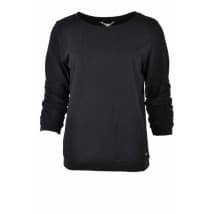 w Sweater 3/4 dot - Zwart