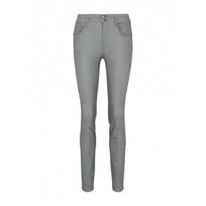 Broek coating stretch - Licht groen