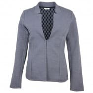 Tom Tailor Denim Blazer streepje jersey - Marine