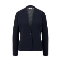 Tom Tailor Denim Blazer met crinkle - Marine