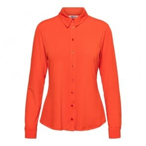 Blouse LM jersey uni - Rood