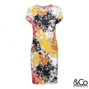z Lilly dress km - Red multi